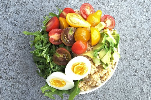 4. Bulgur Salad Goddess Bowl