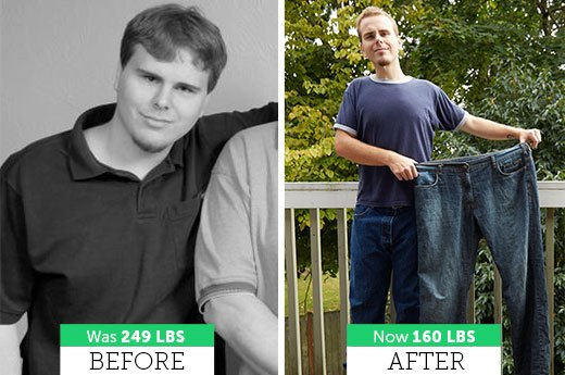 Korey H. Lost 89 Pounds!