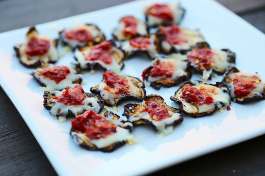 "10. Eggplant Parm ""Pizza"" Chips"