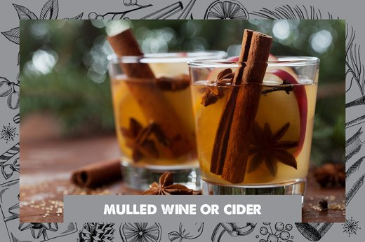 2. Mulled Wine or Cider