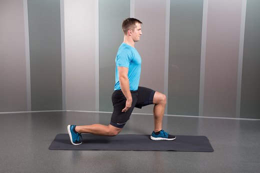 Split-Squat Hold
