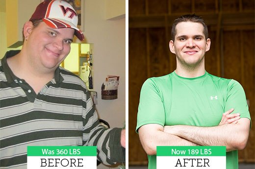 Ryan C. Lost 160 Pounds!