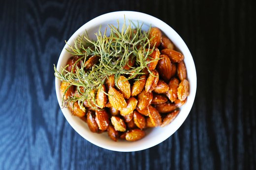 5. Roasted Rosemary and Garlic Almonds