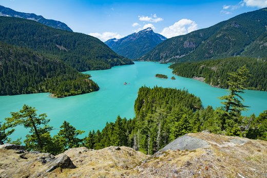 10. For the Whole Family: Beaver Lake, North Cascades, Washington