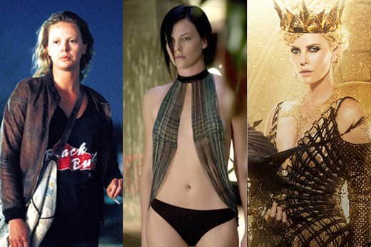 "7. Charlize Theron, ""Monster"""