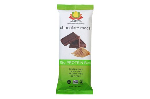 2. Amrita Chocolate Maca Protein Bar