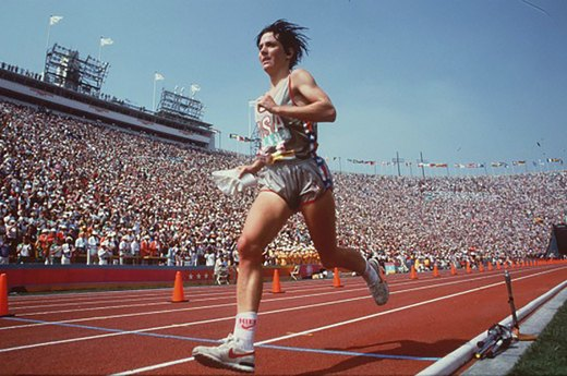 9. Joan Benoit Samuelson on Racing