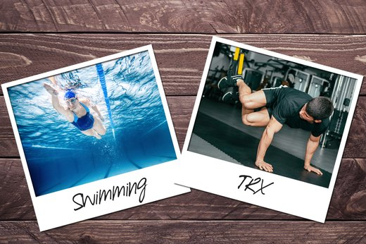 2. Swimming + TRX