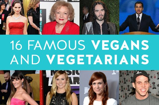 16 Famous Vegans and Vegetarians