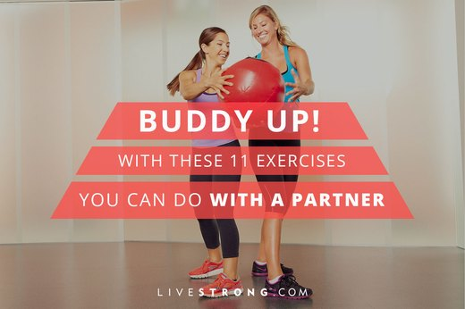 Buddy Up With These 11 Exercises You Can Do With a Partner