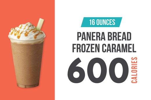 #9 (tie): Panera Bread Frozen Caramel