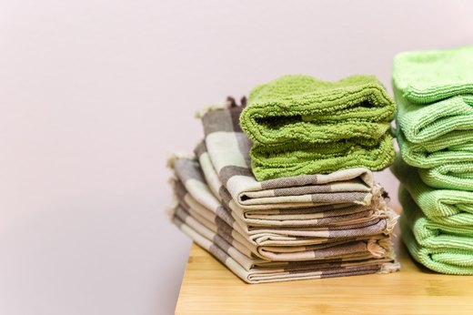 46. Worn, Ripped Towels