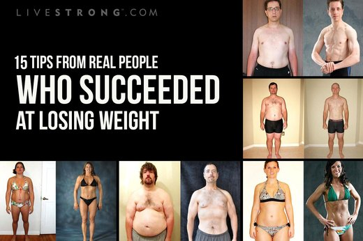 15 Tips From Real People Who Succeeded at Losing Weight