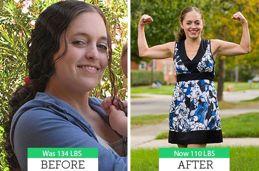 Rachel F. Lost 25 Pounds!