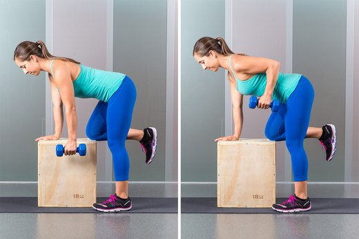 8. One-Armed Dumbbell Row