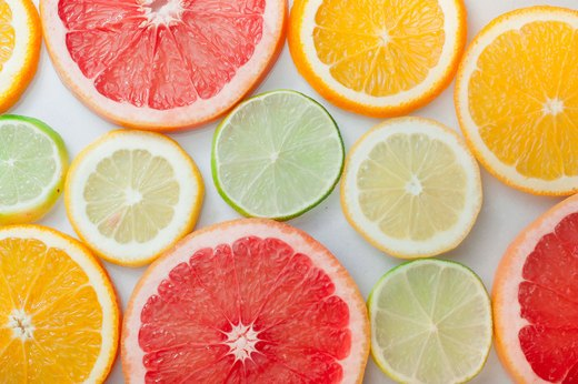 Raw: Lemons, Limes, Grapefruit & Oranges