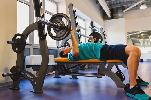 "9. ""Put your feet up on the bench for barbell presses."""