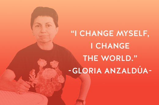 14. Gloria Anzaldúa: Writer, Activist, Theorist, Teacher