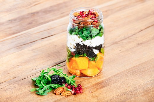 4. Cantaloupe and Blackberry Salad