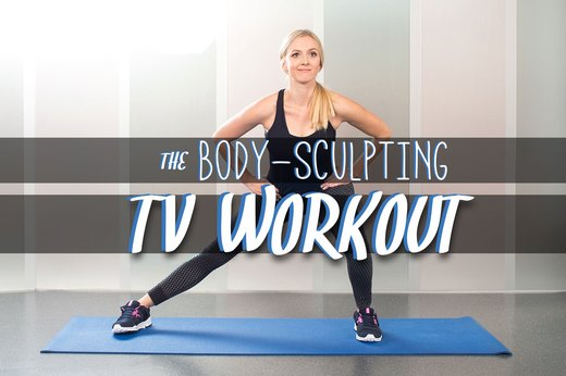 10 Body-Sculpting Exercises You Can Do While Watching TV