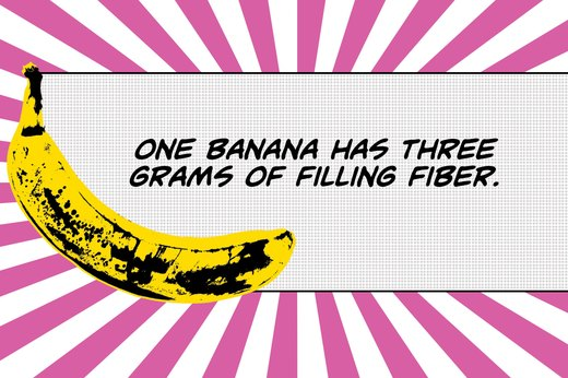 5. Bananas Are Diet-Friendly