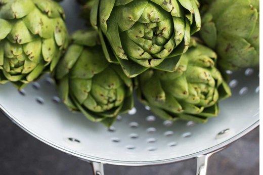 RECIPE 5: Steamed Artichoke With Olive Oil and Lemon Dipping Sauce