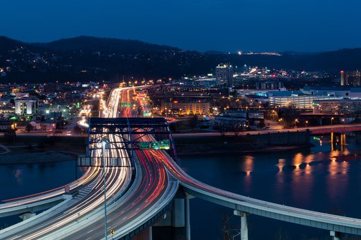 50. Charleston, West Virginia