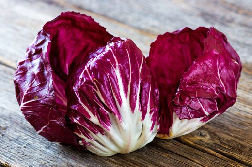 Raw: Fennel and Radicchio