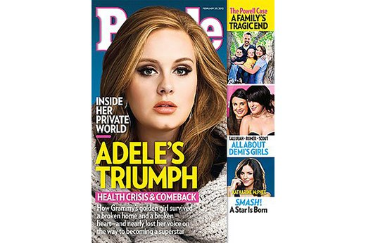 "6. Karl Lagerfeld Said Adele Has a ""Beautiful Face"""