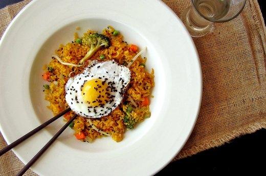 3. Sunny-Side-Up Fried Rice