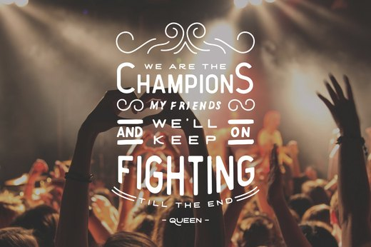 "3. ""We Are the Champions,"" Queen"