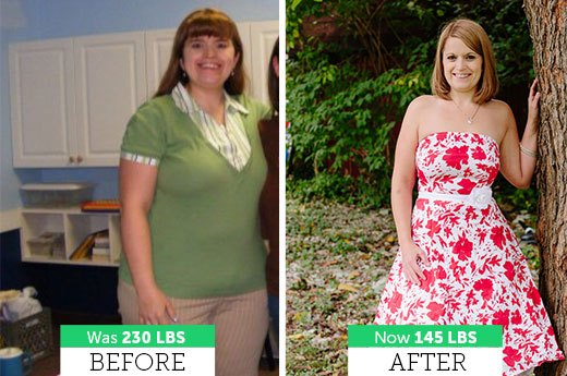 Amanda B. Lost 85 Pounds!