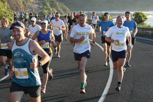 8. Great Ocean Road Marathon (May)