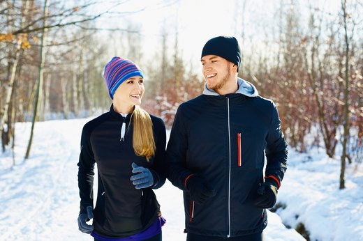 7. Exercising outside can stave off seasonal affective disorder.