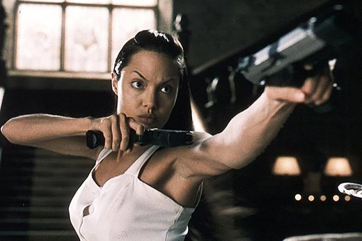 "17. Angelina Jolie in ""Tomb Raider"""