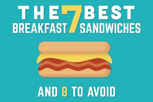 The 7 Best Breakfast Sandwiches and 8 to Avoid