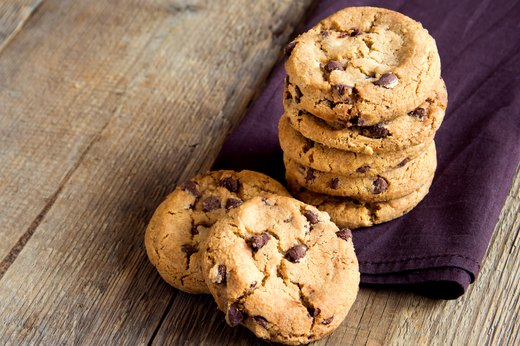 9. Homemade Chocolate Chip Cookies