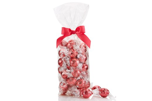 4. Lindt Lindor Strawberries and Cream White Chocolate Truffles