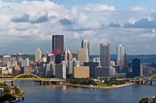 8. Pittsburgh, Pennsylvania
