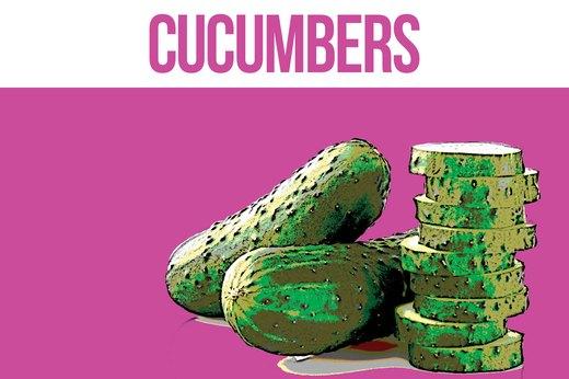 9. Cucumbers