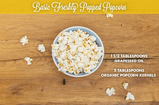 Basic Freshly Popped Popcorn
