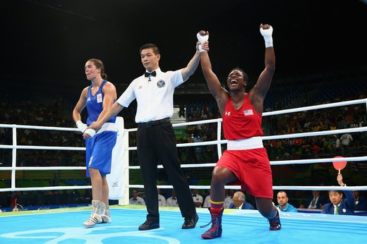 11. Back-to-Back Wins for Claressa Shields