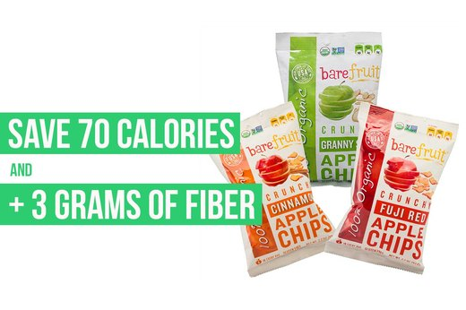 3. Bare All-Natural Crunchy Apple Chips