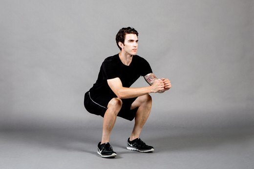 4. Body-Weight Squat