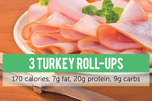 2. Turkey Roll-Up