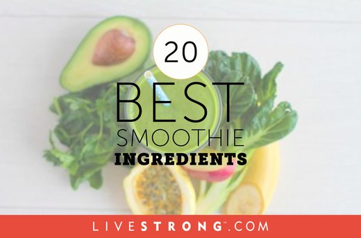 The 20 Best Smoothie Ingredients - Some Will Surprise You!