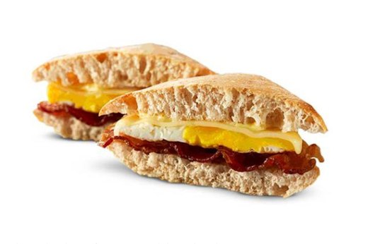 BEST: Wendy's Artisan Egg Sandwich (Without Bacon!)