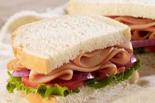 7. Panera: Smoked Turkey Breast on Country Bread