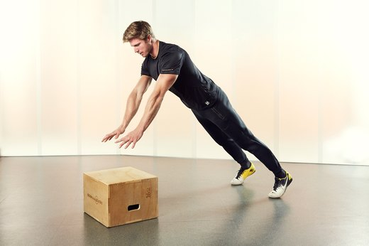 Power Push-Up to Elevation