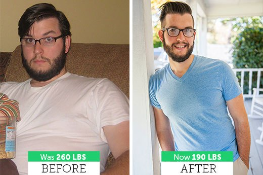 How Dan W. Lost 70 Pounds